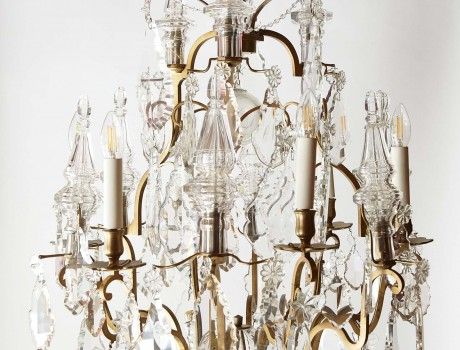 Lustre cage style Louis XV