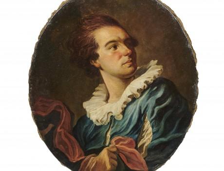 Portrait d'après Fragonard