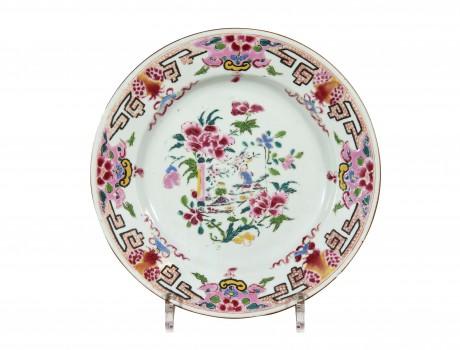 Assiette en Porcelaine de Chine XVIIIe