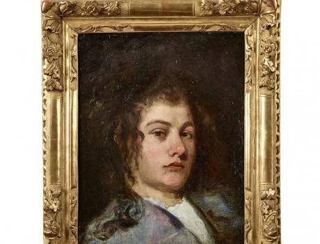 Portrait d'un jeune homme du XVIIIe