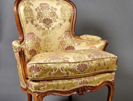 Paire de bergères Louis XV