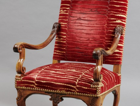 Grand Fauteuil d'époque Louis XIV